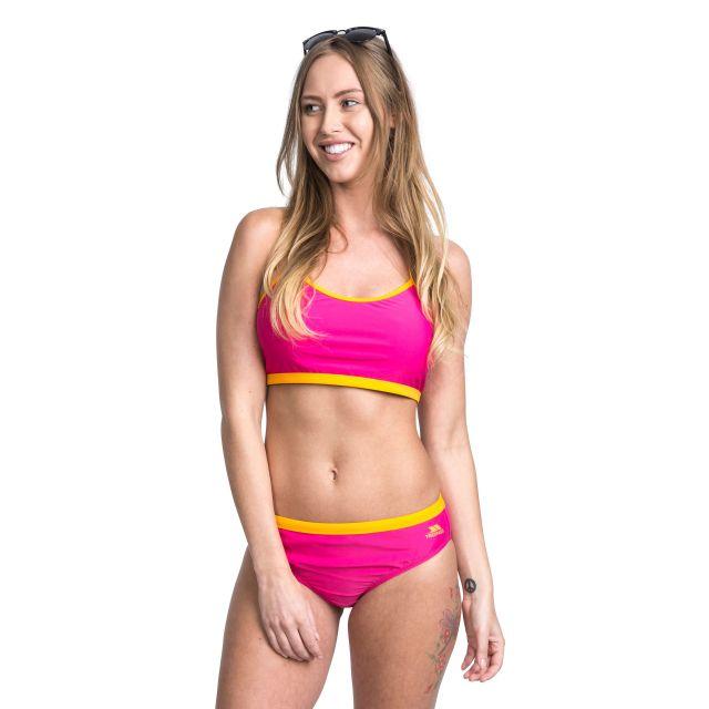 Ziena Women's Bikini Top in Pink