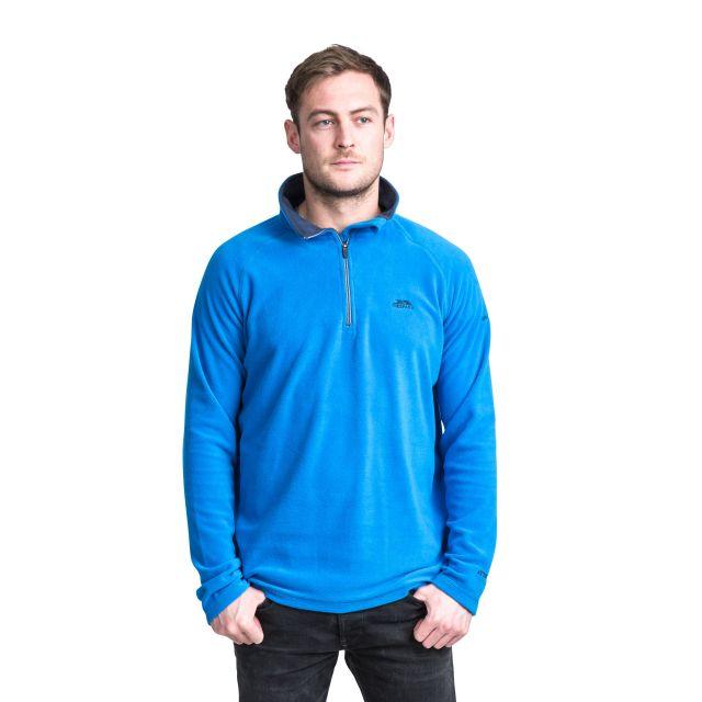 Blackford Men's 1/2 Zip Microfleece in Blue