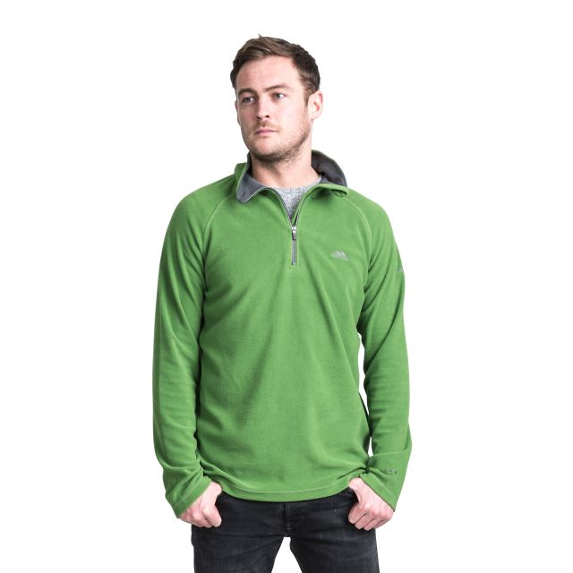 Blackford Men's 1/2 Zip Microfleece in Green