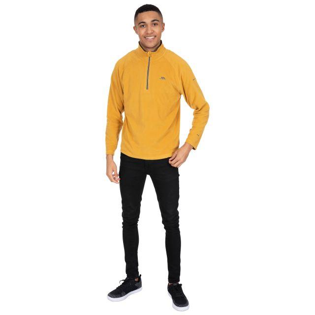 Blackford Men's 1/2 Zip Microfleece in Yellow