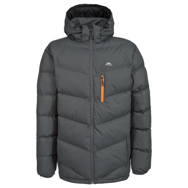 Blustery Men's Padded Casual Jacket - ASH