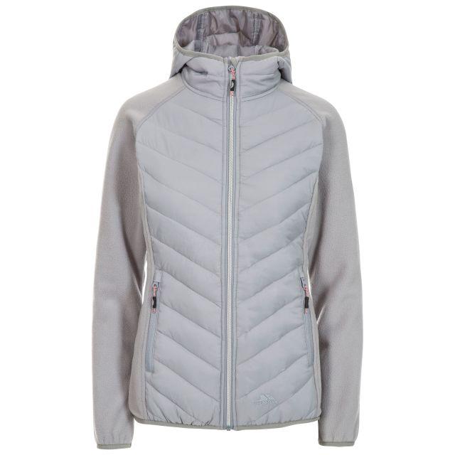 Boardwalk Women's Quilted Hooded Jacket in Grey
