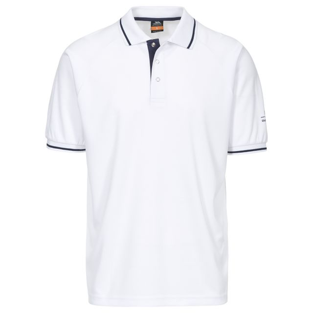 Bonington Men's Quick Dry Polo Shirt in White