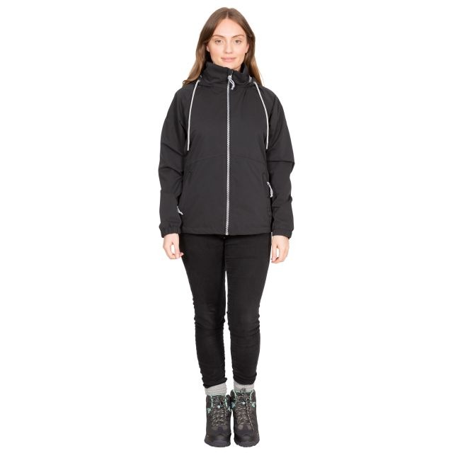 Boom Women's Waterproof Jacket in Black