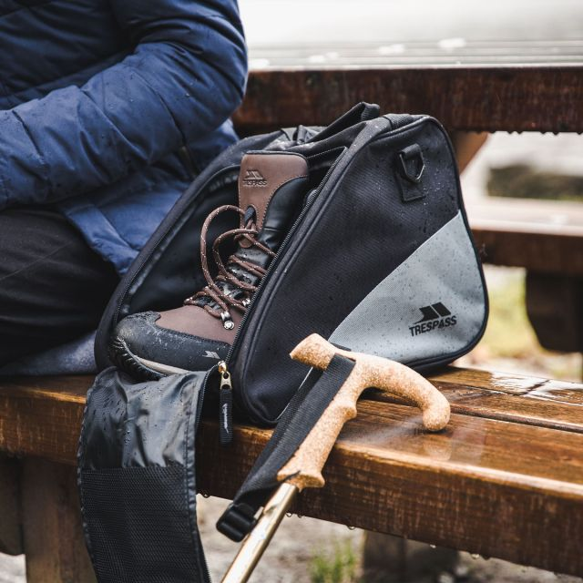 Trespass Hiking Boot Bag with Removable Straps Bootie Grey