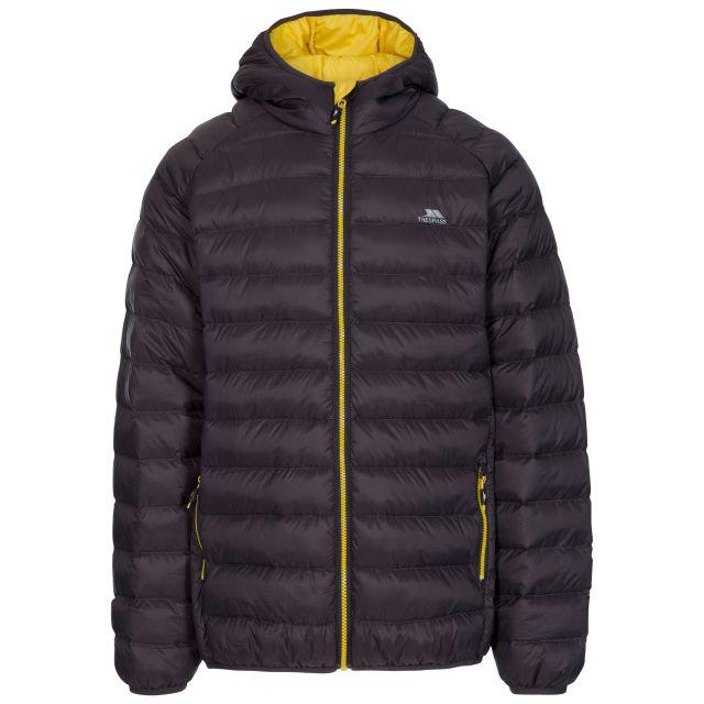 Bosten Men's Padded Casual Jacket in Grey