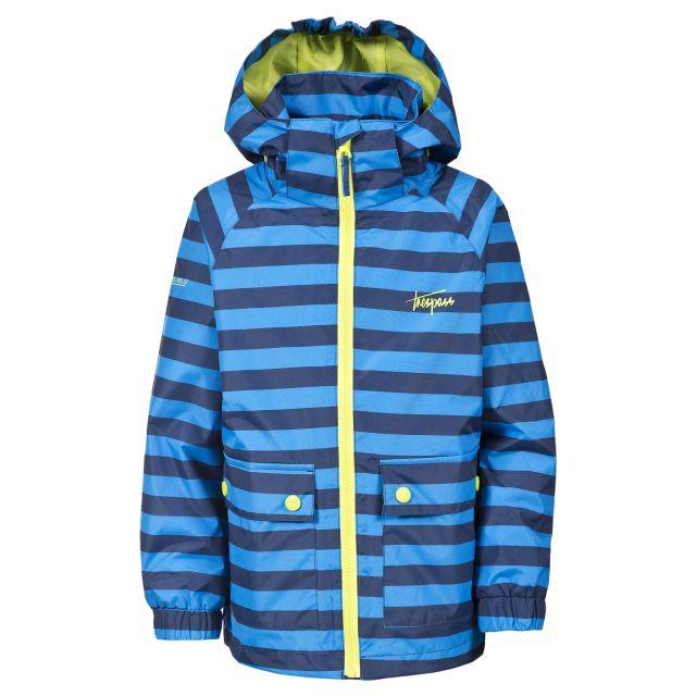Bowline Boys Waterproof Jacket in Blue