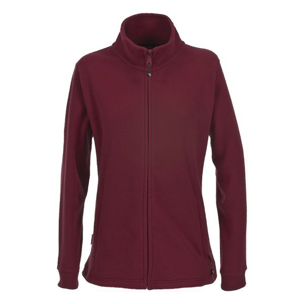 Boyero Men's Fleece Jacket in Burgundy