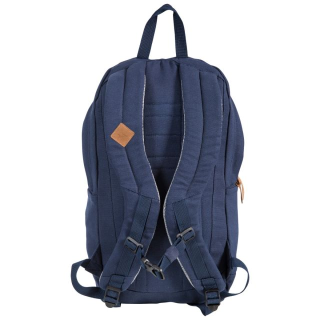 Braer 25L Canvas Backpack in Navy