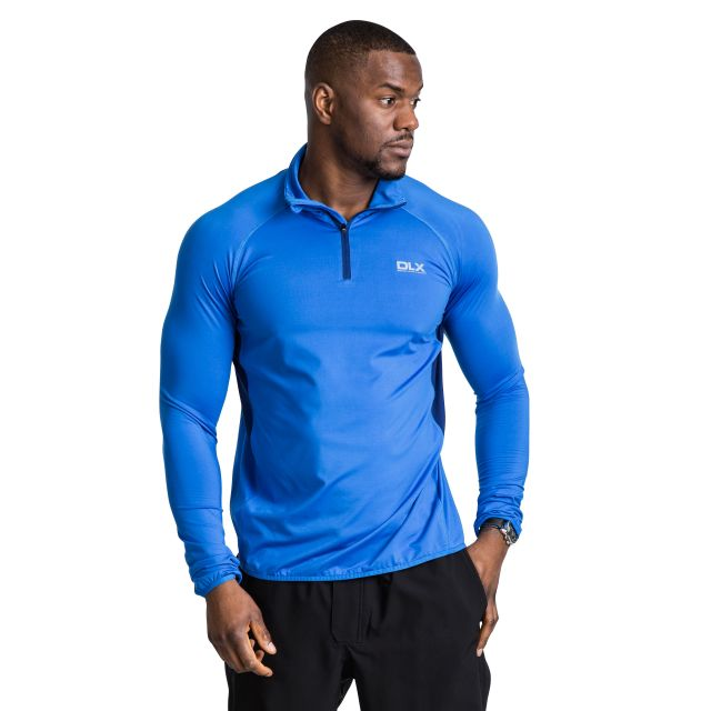 Brennen Men's DLX Active Top in Blue