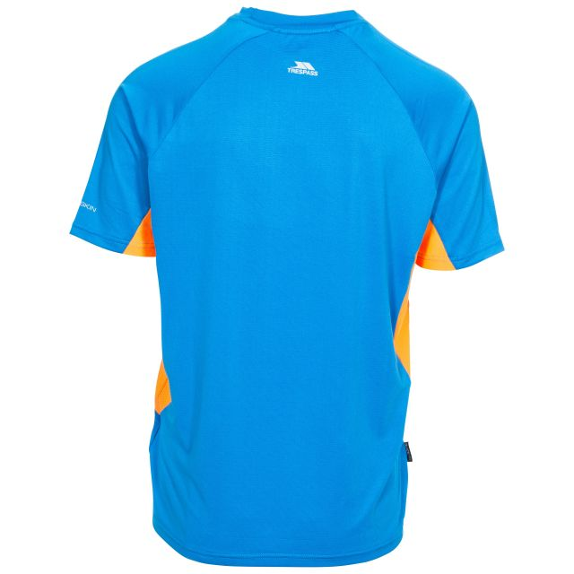 Brewly Men's Active T-Shirt in Blue