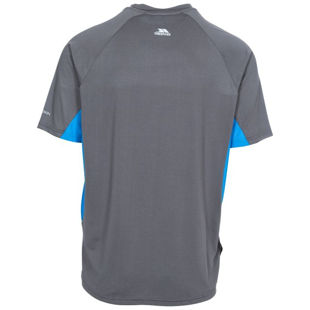 Brewly Men's Active T-Shirt in Grey