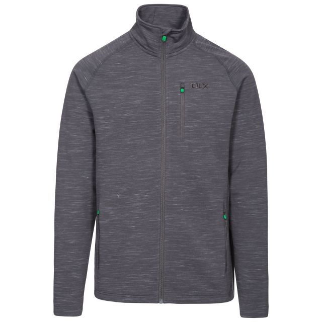 Brolin Men's DLX Fleece Jacket in Light Grey