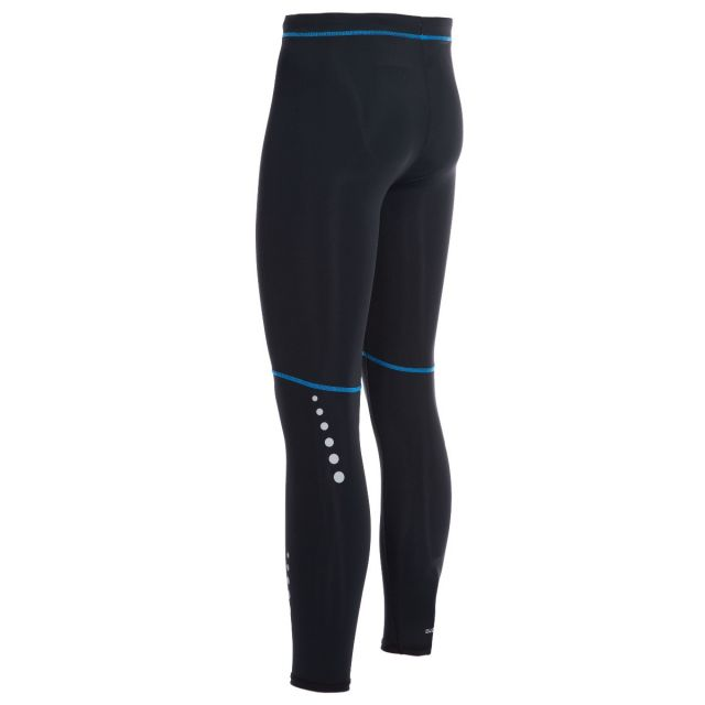 Brute Men's DLX Active Leggings in Black