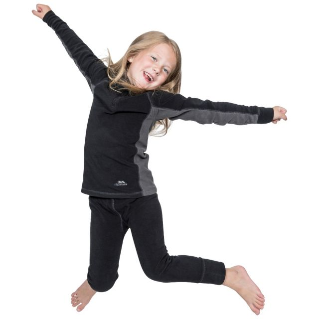 Trespass Childrens//Kids Bubbles Fleece Top and Bottom Base Layers