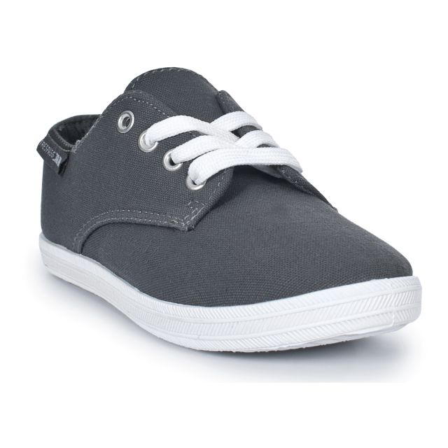 BUMPER Boys Canvas Shoes in Grey