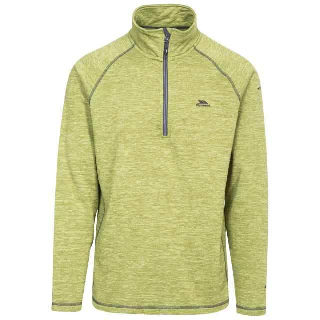 Bungy Men's 1/2 Zip Fleece in Green