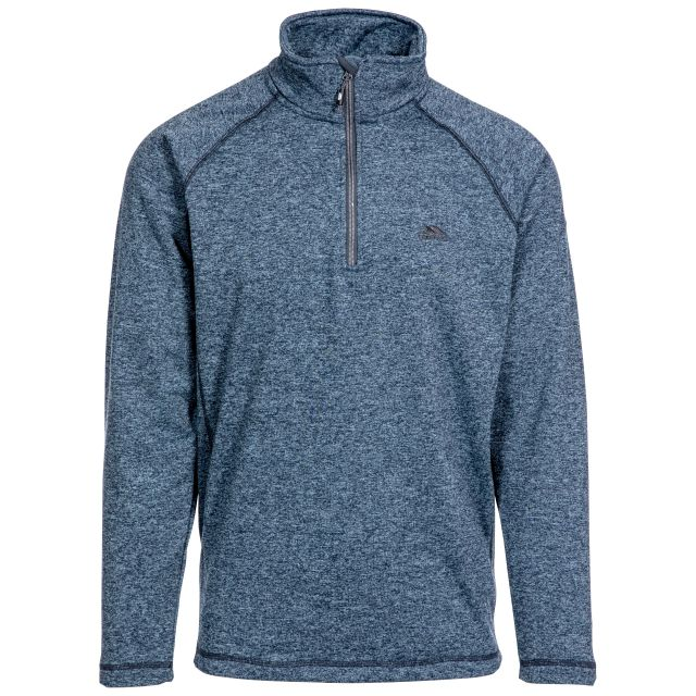 Bungy Men's 1/2 Zip Fleece in Navy
