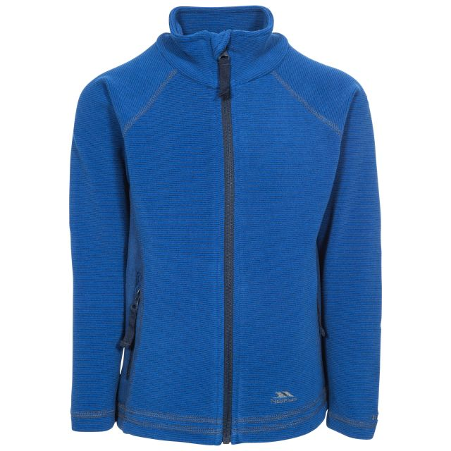 Bunker Kids' Full Zip Fleece Jacket in Navy