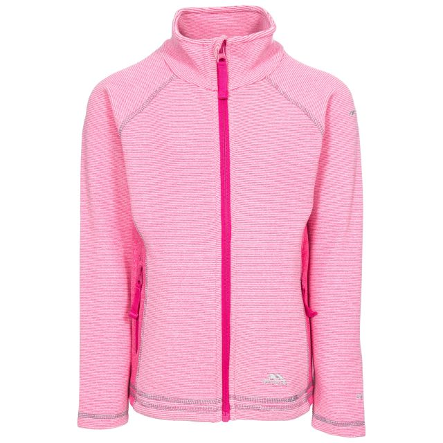 Bunker Kids' Full Zip Fleece Jacket in Pink