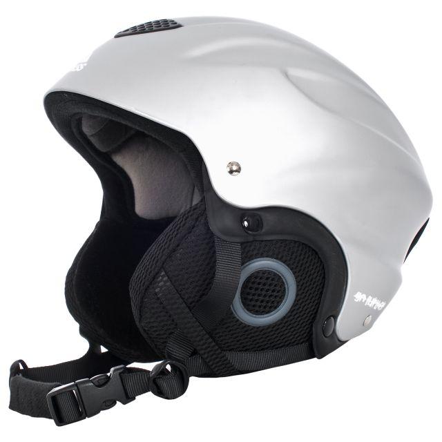 Burlin Kids' Silver Ski Helmet