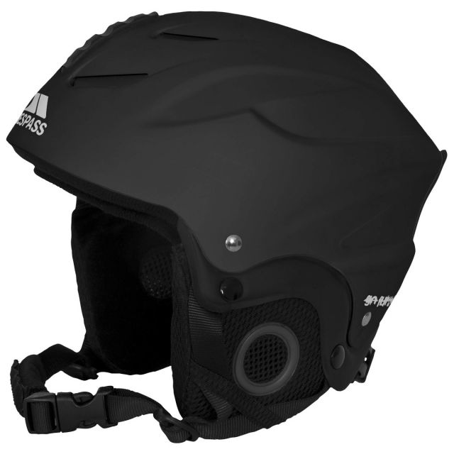 Burlin Kids' Black Ski Helmet in Black