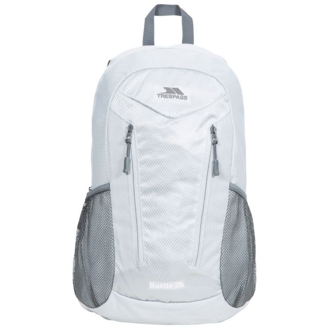 Bustle 25L Backpack in Light Grey
