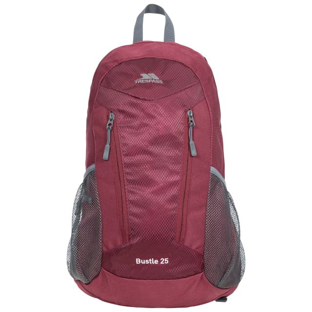 Bustle 25L Backpack in Burgundy