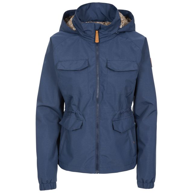 Trespass Womens Waterproof Jacket Busybee in Navy