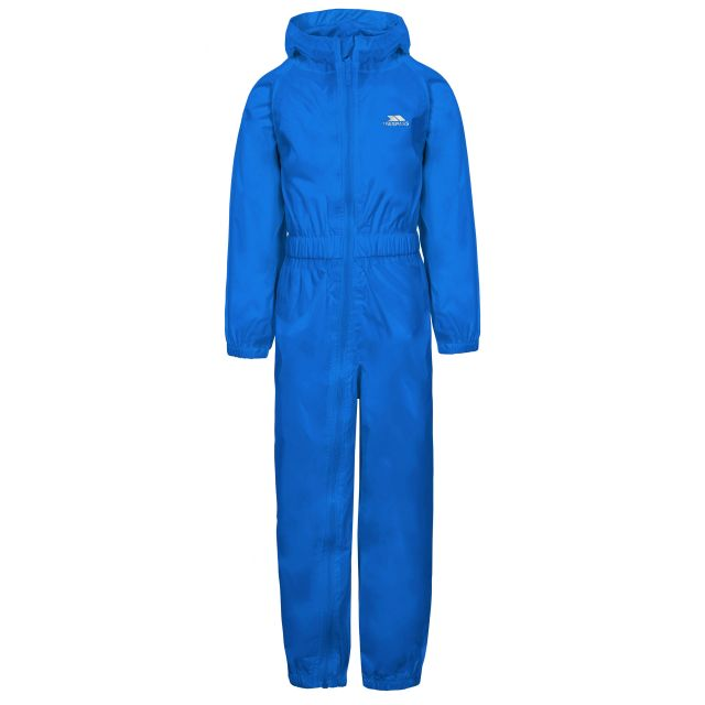 Button Kids' Rain Suit in Blue