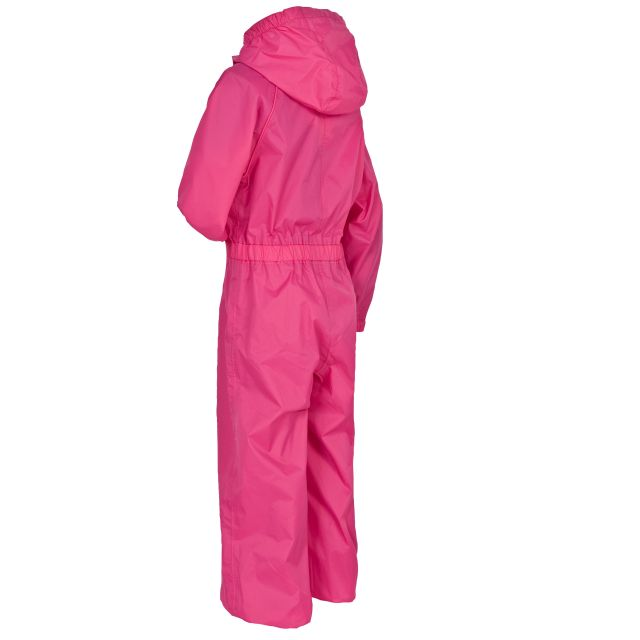 Button Girls' Rain Suit