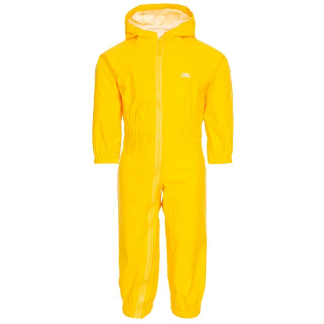 Button Babies' Rain Suit in Yellow