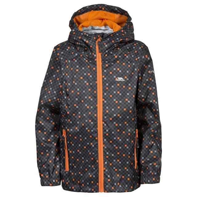 Callan Boys Packaway Waterproof Jacket in Grey