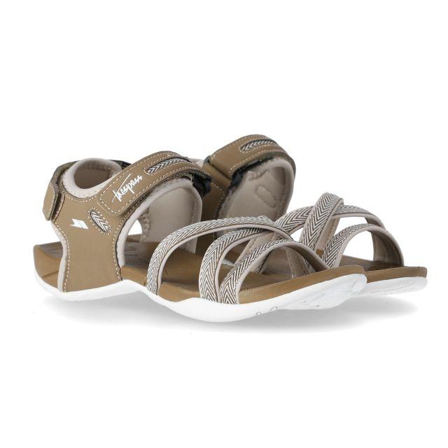 Camello Women's Walking Sandals in Brown