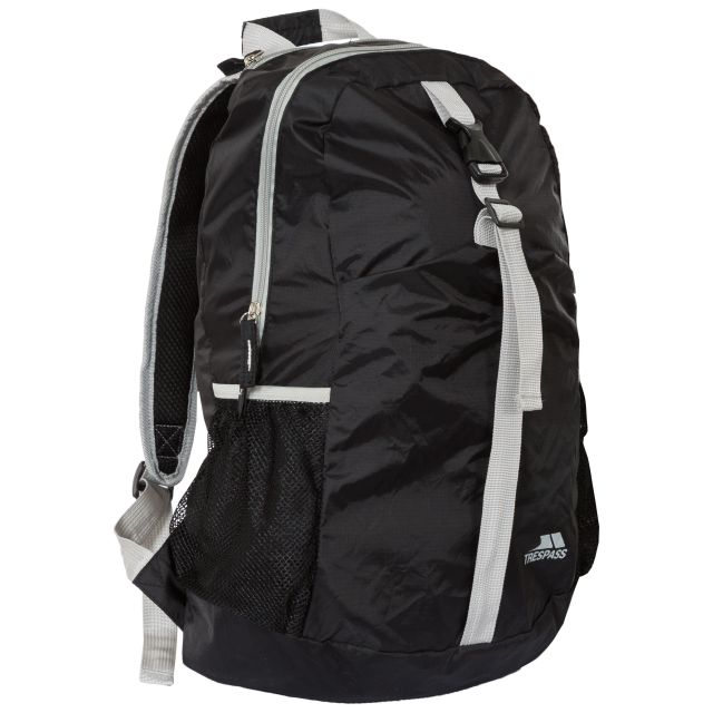 Canguro 20L Foldaway Backpack in Black