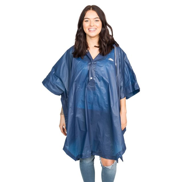 Canopy Adults' Waterproof Poncho  in Navy