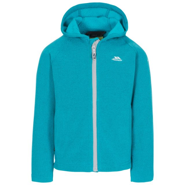 Captive Kids' Full Zip Fleece Hoodie in Blue