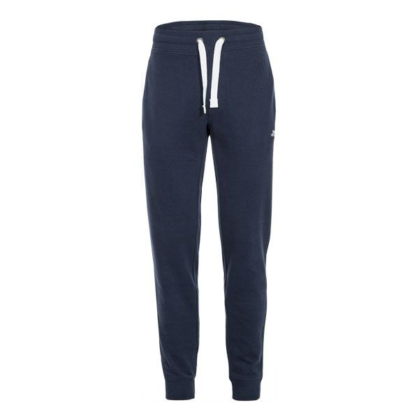 Carson Men's Tracksuit Bottoms in Navy, Front view on mannequin