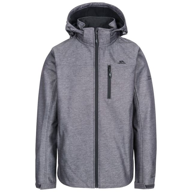 Carter Men's Softshell Jacket in Grey