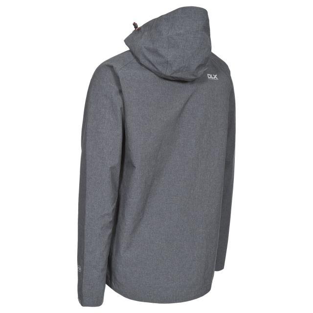 Caspar Men's DLX Waterproof Jacket in Grey
