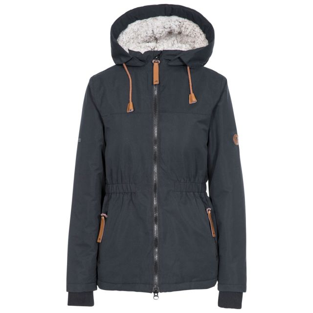 Trespass Womens Padded Jacket Fleece Lined Cassini