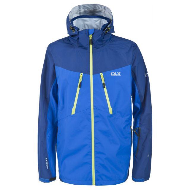Cassius Men's DLX Waterproof Jacket in Blue
