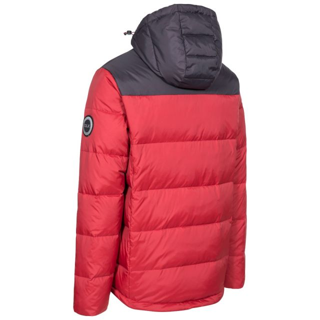 Cavanaugh Men's DLX Down Jacket in Red