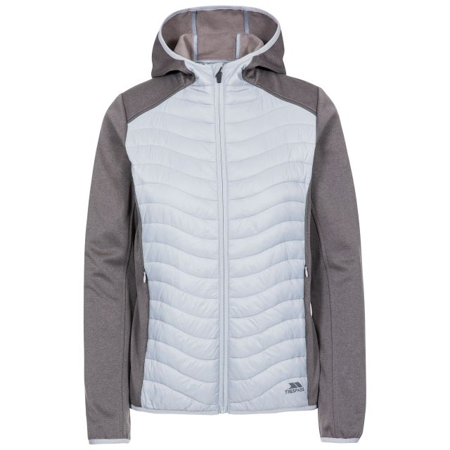 Cecilia Women's Full Zip Hoodie in Grey