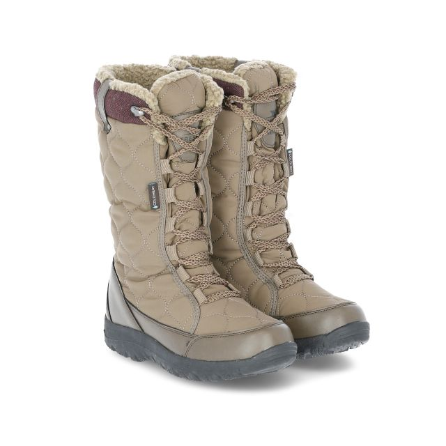 Ceitidh Women's Snow Boots in Brown