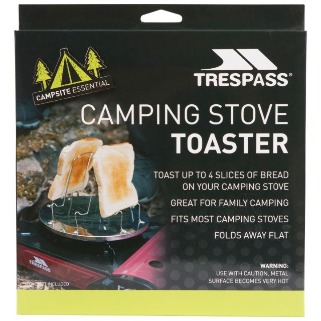 Stainless Steel Camping Stove Toaster in Assorted