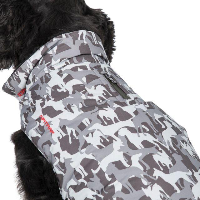 Charly Medium Printed Waterproof Dog Coat - GD1