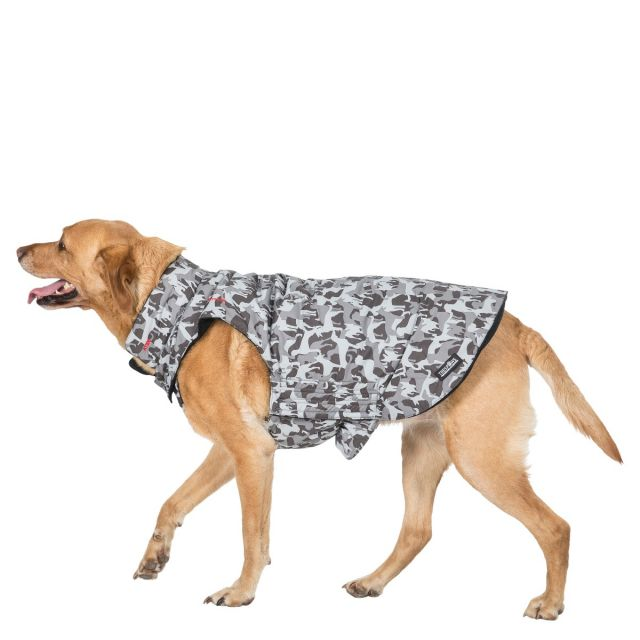 Trespass Large Printed Waterproof Dog Coat Charly X