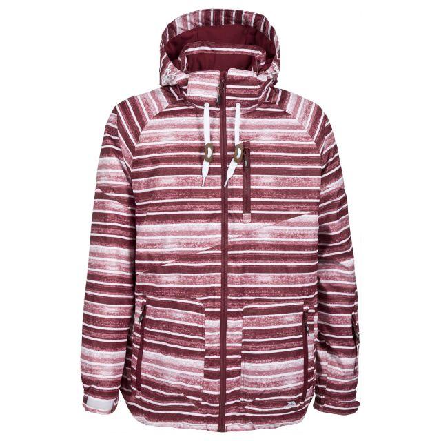 Checkers Mens Ski Jacket in Purple