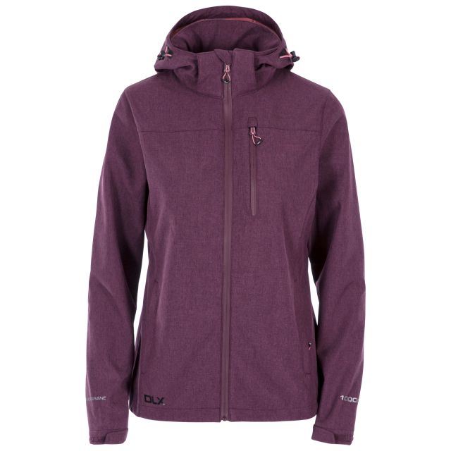 Claren II Women's DLX Softshell Jacket in Purple